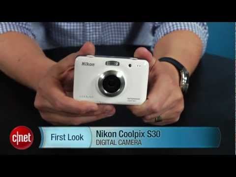 First Look: The waterproof and shockproof Nikon Coolpix S30