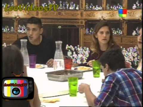 Primera cena sin Romina y Francisco GH 2015 #GH2015 #GranHermano