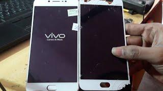 Vivo V5 Display Replace & Disassemble Hindi