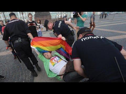 Προσαγωγές στο gay pride της Αγίας Πετρούπολης