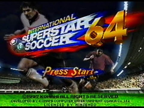 trucos para international superstar soccer 64 nintendo 64