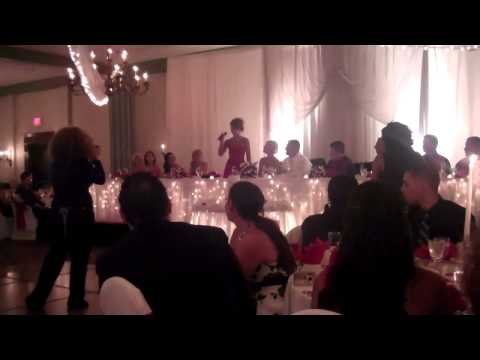 Maid of Honor Toast--Singing Total Eclipse of the Heart Remix