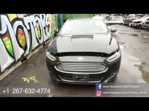 Авто из США от 7motors. 2014 Ford Fusion - выигрышная ставка 4250$ на страховом аукционе (iaai).