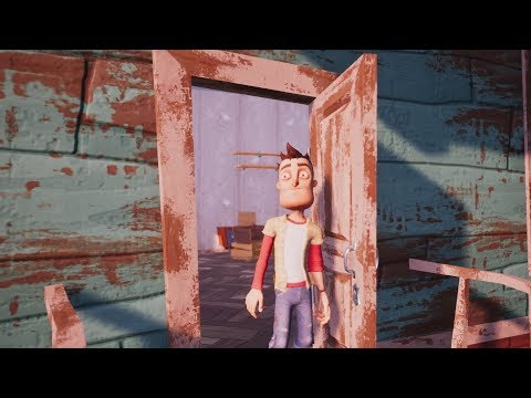 HELLO NEIGHBOR ALL Endings +Secret Endings & Final Boss (видео)
