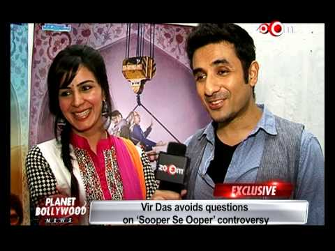 Sooper Se Ooper - Vir Das & Kirti Kulhari talk about their movie