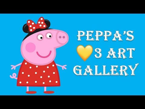 Peppa Pig English 3 Art  GALLERY Live Peppa Pig Full Episodes 2019