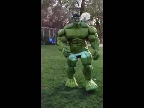 Latex Hulk Costume is Pretty Damn Good.