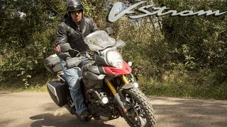 8. Suzuki V-Strom 1000 GT Review - BIKE ME!