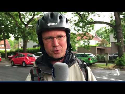 Selbstversuch: Mit dem Fahrrad in Mainz