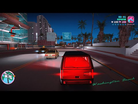 Grand Theft Auto Vice City 8K Ultra Graphics Gameplay Part 12 - GTA VC PC 8K 60FPS