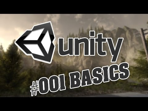 First Person Game Erstellen – Unity3d – Anfänger – #001 Basics