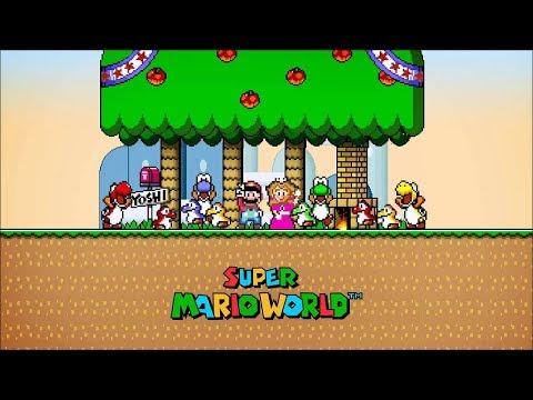Super Mario World - CHAT DA TWITCH NA DESCRIÇÃO