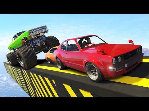 Угар на маленьких машинах! Гонки в GTA 5 Online   MYE (видео)