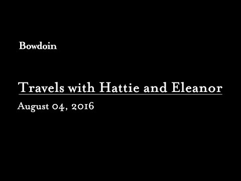"""Travels with Hattie & Eleanor: Researching Biography with Barbara Cooney"""