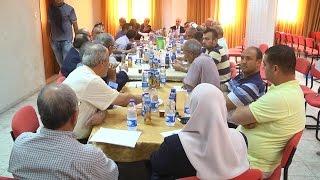الغرفة التجارية بطولكرم تعقد اجتماع لتنظيم العلاقة بين التجار و دائرة الضريبة والجمارك