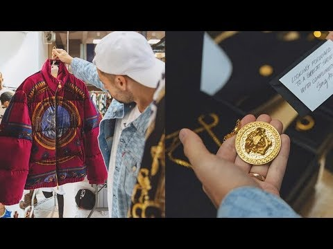 What Went Down at the Kith x Versace New York City Drop