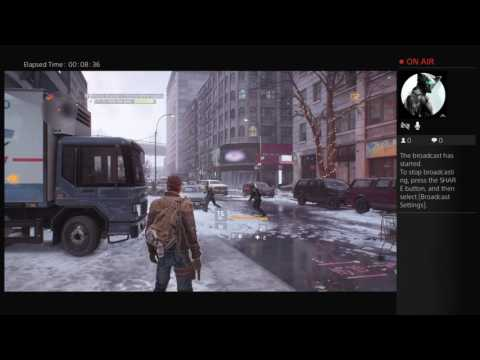 Tom Clancy's The Division GamePlay Beginning