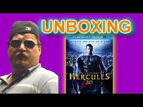 The Legend Of Hercules 3D Blu Ray Unboxing