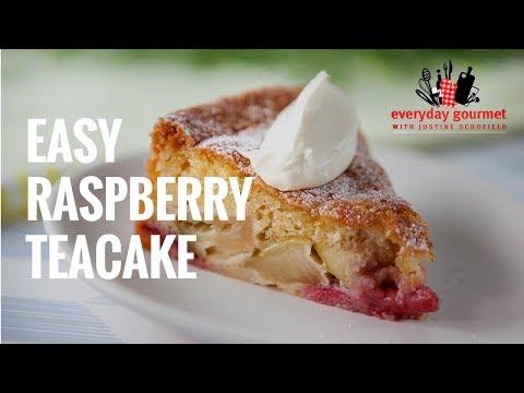 Easy Strawberry Teacake | Everyday Gourmet S7 E4