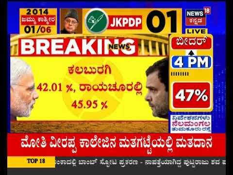 Karnataka Phase-2 Voter Turnout Report, Shimoga Leads, Followed By Chikkodi And Bellary