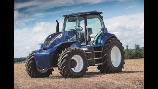 Video The New Holland Agriculture methane powered concept tractor (ESPAÑOL) MP3, 3GP, MP4, WEBM, AVI, FLV Januari 2019