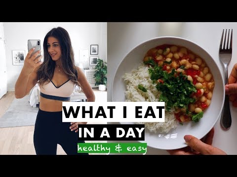 What I Eat In A Day - Healthy & Easy | Mimi Ikonn