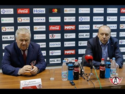 """Пресс-конференция: """"Автомобилист"""" - """"Сибирь"""" (18.02.2017)"""