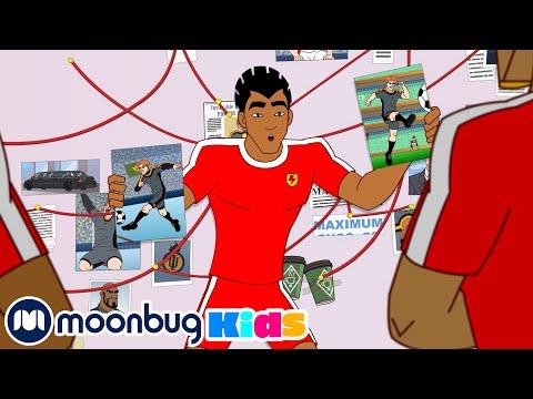 Perfect Match - SUPA STRIKAS Season 7   Football Cartoon