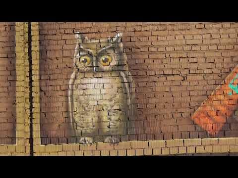 graffiti - knijnyj shkaf