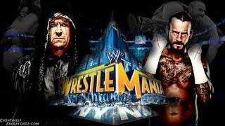 The Undertaker vs CM Punk l WrestleMania 29 l Combates WWE