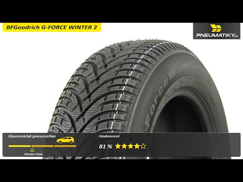 Youtube BFGoodrich G-FORCE WINTER 2 195/60 R15 88 T Zimní
