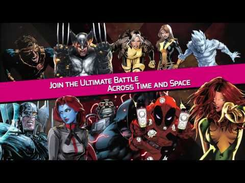 Marvel X-Men Battle of the atom official HD gameplay trailer – iOS Android