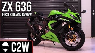 1. 2013 Kawasaki Ninja ZX-6R 636 - First Ride and Review