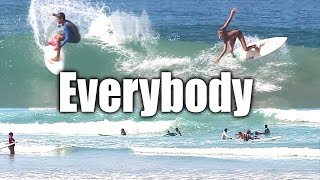 I just let the camera roll today. Every surfer made the cut. FREE 5 Video Improve Your Surfing Course http://surfcoaches.com/iSURFTRIBE Hats - Shirts - Tanks http://iSurftribe.comAtua's Channel https://www.youtube.com/channel/UCfn_qdZ1XMLRKIfMhexjooASUBSCRIBE! http://www.youtube.com/user/surfcoachesLET'S CONNECT!-- https://www.facebook.com/iSurfTribe-- https://instagram.com/iSurfTribe/-- https://twitter.com/surfcoaches