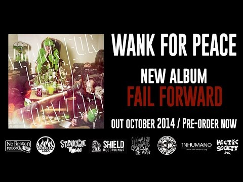 """Wank - Second LP, """"Fail Forward"""", Out Fall 2014 It will be out in October on Vinyl and CD thanks to those amazing labels : Vinyl - Shields Recordings (NL) - Inhuman..."""