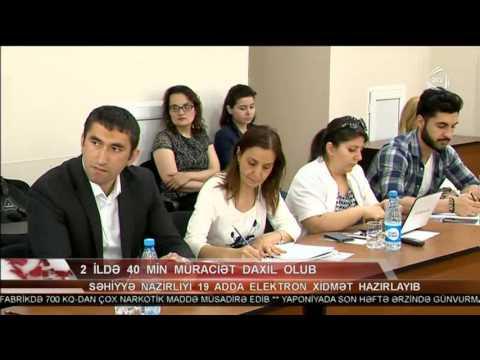 """İSİM-də """"Açıq hökumət""""in təşviqinə dair brifinq, ATV-də reportaj"""