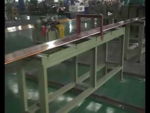 HORMESA CONTINUOUS EXTRUSION MACHINE FOR COPPER BUS BAR