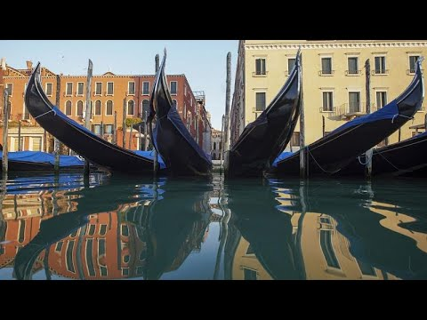 Βενετία: Οι τουρίστες έφυγαν και η πόλη είναι πιο καθαρή…