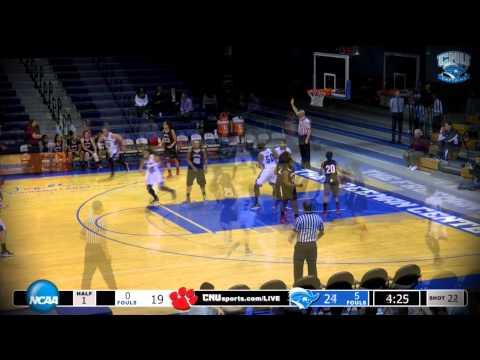 WBB: CNU vs. Frostburg State
