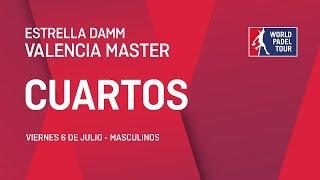 Cuartos de final masculinos - Estrella Damm Valencia Master 2018 - World Padel Tour