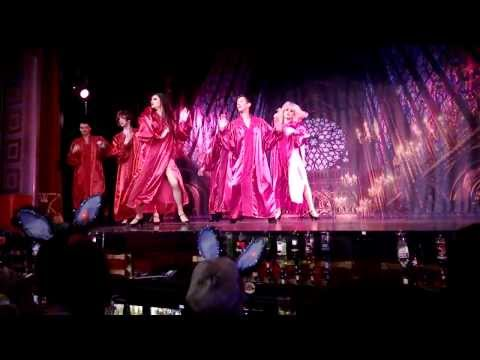 Funny Girls Blackpool October 2013 Sister Act Choir Routine
