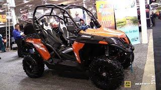 8. 2019 CfMoto Z-Force 500 Side by Side ATV - Walkaround - 2018 Toronto ATV Show