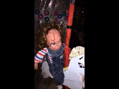 Chuckie doll at Dia de los muertos