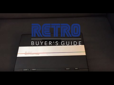 Atari 7800: RETRO Buyer's Guide Episode 32