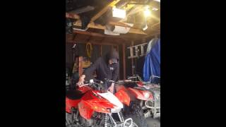 8. Honda TRX400X and Yamaha Kodiak 400 Cold Start