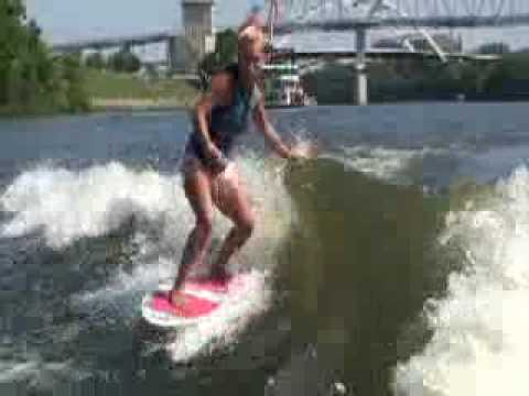 Bri Chmel's Wakesurf Worlds Winning Run
