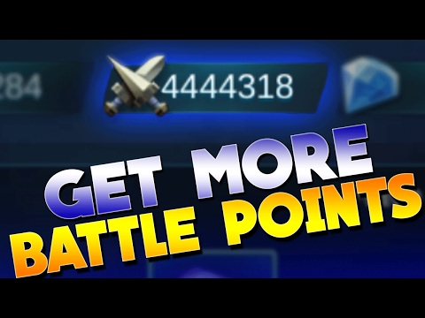 Mobile Legends How To Get More Battle Points!