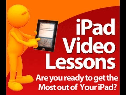 iPad User Guide / iPad Manual – Learn how to use the iPad with iPad Video Lessons