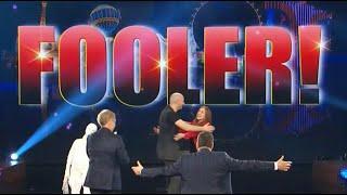 Video Raffaele Scircoli fools penn and Teller// Fool us: Crazy mentalism puppet act MP3, 3GP, MP4, WEBM, AVI, FLV Juli 2019