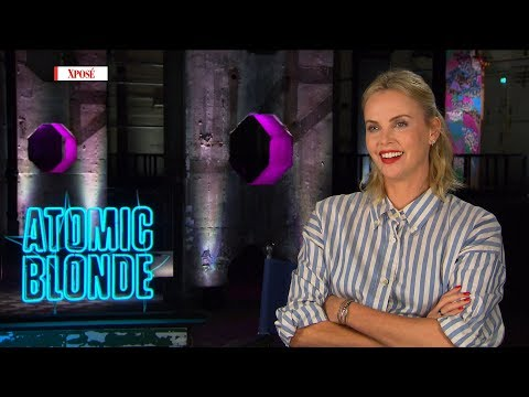 'I was training and I cracked two teeth!' - Charlize Theron talks Atomic Blonde